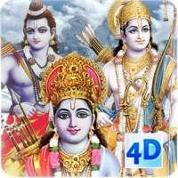 4D Shri Rama (श्री राम दरबार) Live Wallpaper on 9Apps