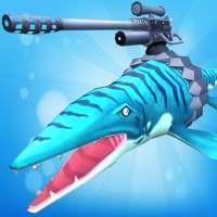 Jurassic Sea Attack-Game serangan laut Jurassic on 9Apps