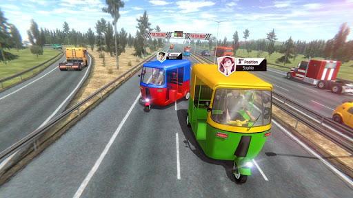 Modern Tuk Tuk Auto Rickshaw - Free Driving Games screenshot 2