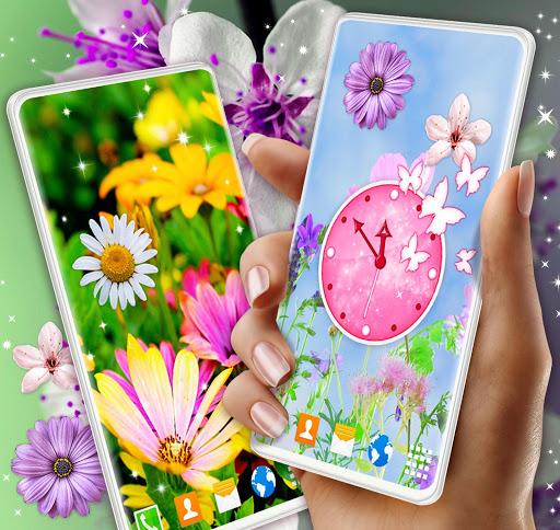 Spring Flowers Live Wallpaper 🌻 Summer Wallpapers screenshot 1