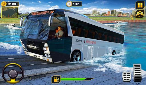 River Bus Driver Tourist Coach Bus Simulator screenshot 9