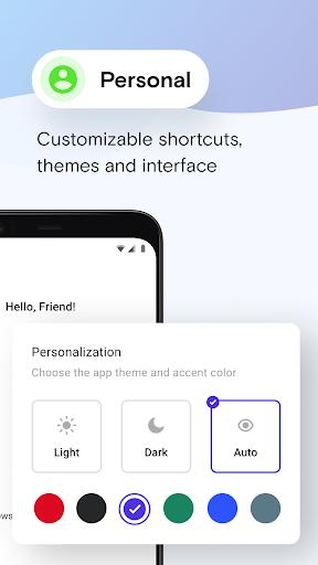 Opera Mini browser beta screenshot 3