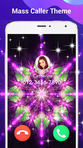 Color Call Flash- Call Screen Call Phone LED Flash screenshot 7
