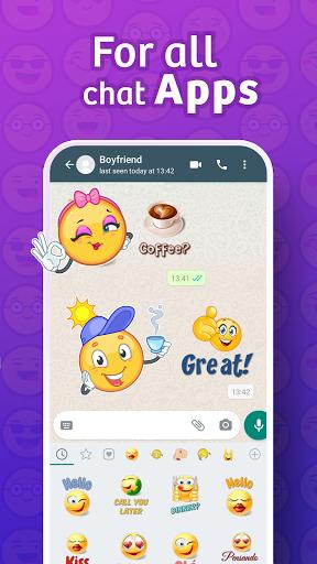 WhatsLov: love stickers, GIF & emoji WAStickerApps स्क्रीनशॉट 2