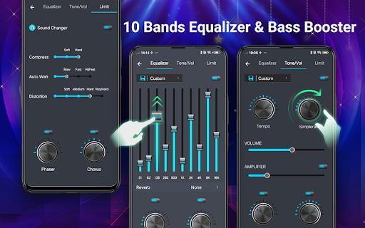 Reproductor de música -  MP3 y ecualizador de 10 screenshot 2