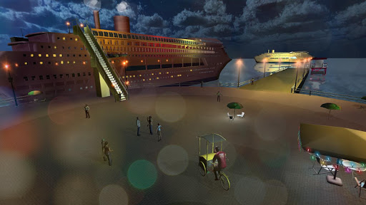 Transport Cruise Ship Game Passenger Bus Simulator स्क्रीनशॉट 2