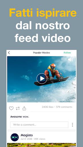Magisto - Montaggio Video e Presentazione di Foto screenshot 8