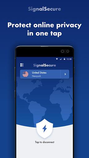Signal Secure VPN -Fast VPN Proxy & VPN Robot screenshot 1