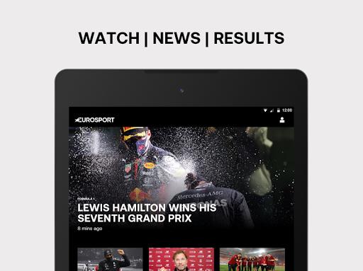 Eurosport: Sports News, Results & Scores screenshot 7