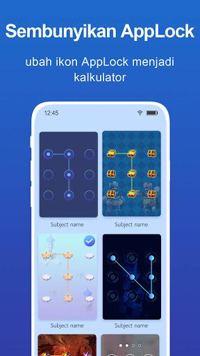 kunci aplikasi: Pengunci aplikasi, Kunci Pin, Pola screenshot 7
