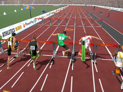 Athletics Mania: Atletica leggera giochi estivi screenshot 17