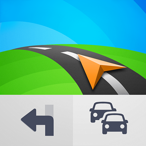 Sygic GPS Navigation & Offline Maps أيقونة
