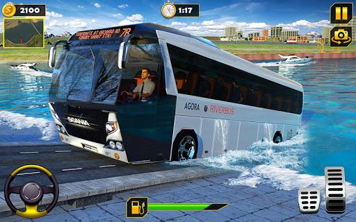 River Bus Driver Tourist Coach Bus Simulator screenshot 15