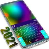 Thème couleur du clavier 2021 on 9Apps