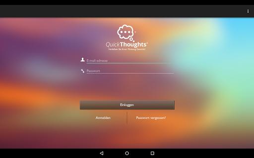 QuickThoughts screenshot 5