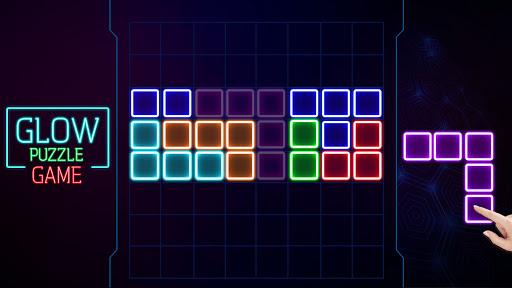 Glow Block Puzzle screenshot 7