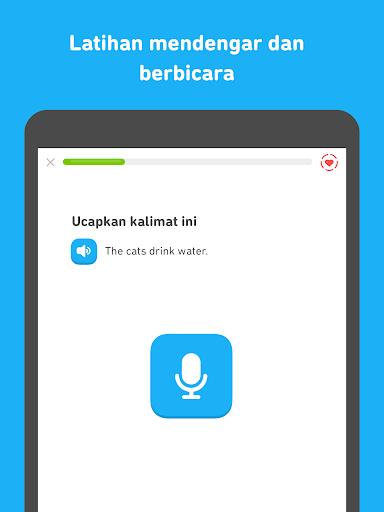 Duolingo: Belajar Inggris Gratis screenshot 9