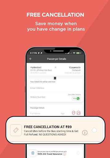 AbhiBus - Fastest Online Bus Ticket Booking App screenshot 4