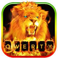 Fire Lion Animated Keyboard + Live Wallpaper on 9Apps