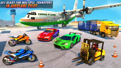 Airplane Pilot Car Transporter: Airplane Simulator screenshot 4