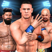 Bodybuilder Fighting Games: Cage Ring Fighting on 9Apps