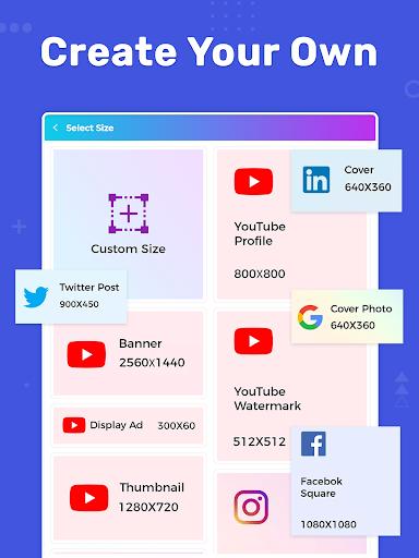 Banner Maker, Thumbnail Maker, Channel Art Maker screenshot 21