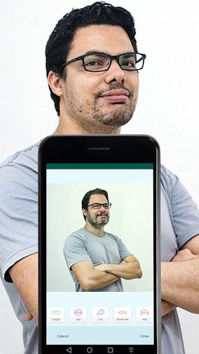 Old Age Face effects App: Face Changer Gender Swap screenshot 10
