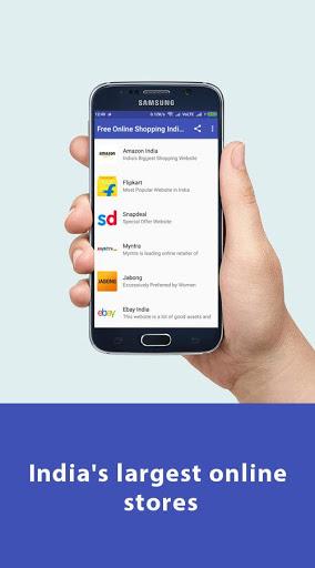 Free Online Shopping India App скриншот 5