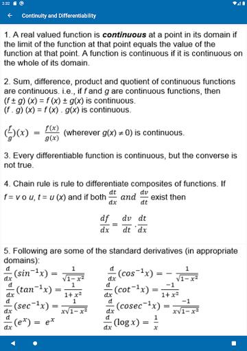 Math Formulas - Class 6 to 12 screenshot 14