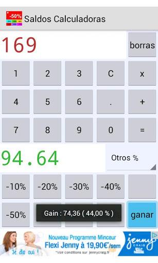 Ventas calculadoras screenshot 3