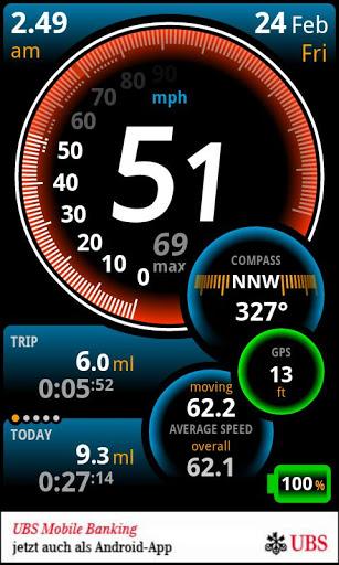 Ulysse Speedometer 3 تصوير الشاشة
