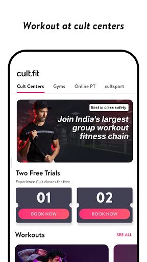 cult.fit Fitness, Meditation, Healthy food, Doctor screenshot 2