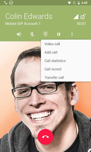 Zoiper IAX SIP VOIP Softphone screenshot 3