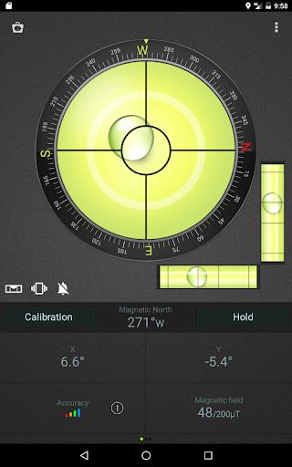 Compass Level & GPS स्क्रीनशॉट 8