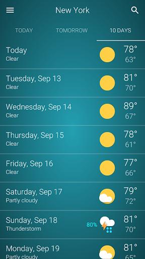 Cuaca screenshot 5