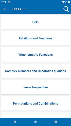 Math Formulas - Class 6 to 12 screenshot 4