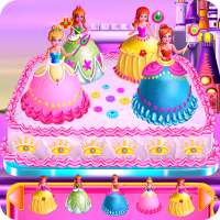 Princesses Cake Cooking on 9Apps