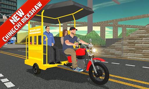 Tuk Tuk Auto Rickshaw Offroad Driving Games 2020 screenshot 3