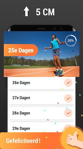 Hoogte Verhogen - Oefeningen voor Thuis, Langer screenshot 5