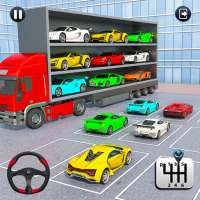 Crazy Car Transport Truck:New Offroad Driving Game on 9Apps