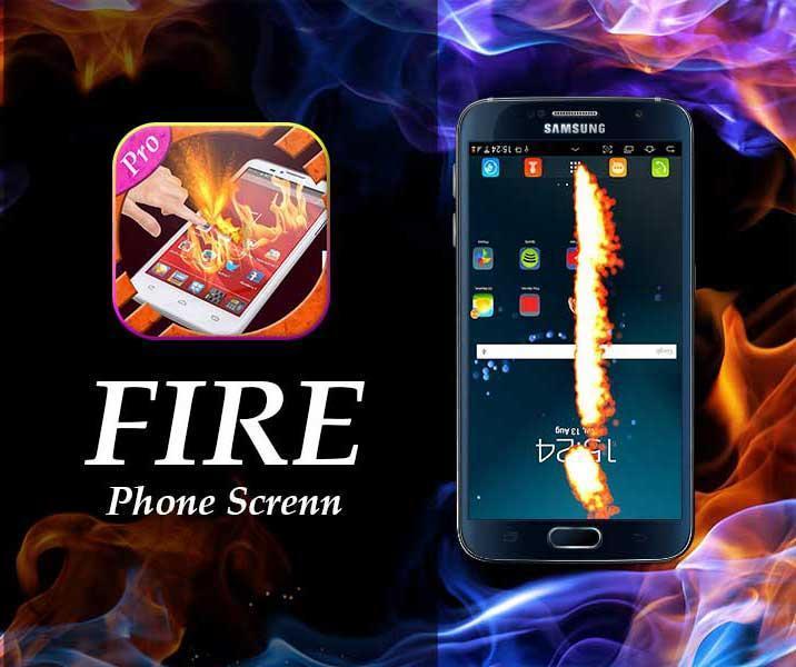 new Fire Screen Prank  2016 screenshot 3