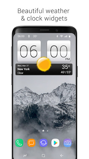 Sense V2 Flip Clock & Weather screenshot 9