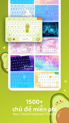 Bàn phím Facemoji: Bàn phím screenshot 3