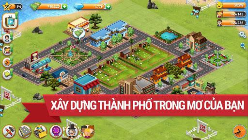 Trò chơi Thành phố Làng Đảo Village Simulation screenshot 2