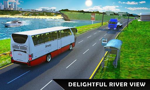 River Bus Driver Tourist Coach Bus Simulator screenshot 6