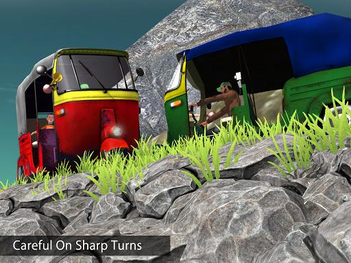 Tuk Tuk Auto Rickshaw Offroad Driving Games 2020 screenshot 19