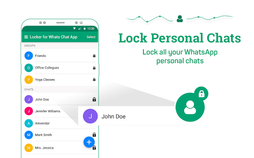 Locker for Whats Chat App - Secure Private Chat screenshot 10