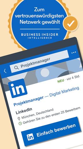 LinkedIn: Job Suche, Business Netzwerken screenshot 1