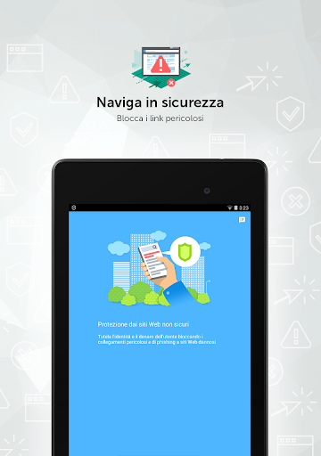 Kaspersky Mobile Antivirus: AppLock Sicurezza Web screenshot 12