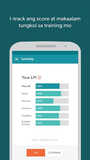 Lumosity - Brain Training screenshot 4